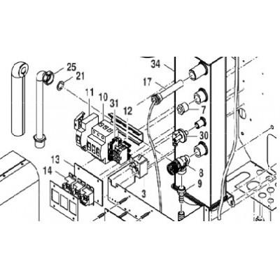 Cívka vyrážecí S9 24VDC Bosch Tronic Heat