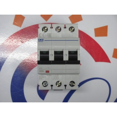 Vypínač OEZ APN63A 3P-DIN  DAKON DALINE