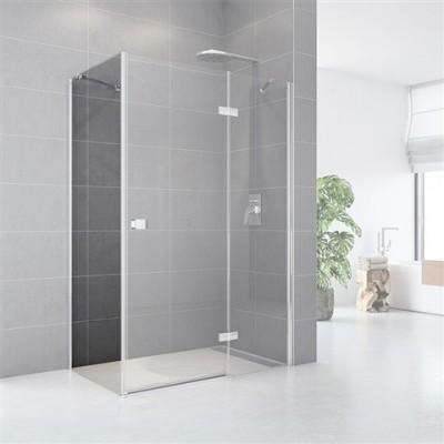 Pevný skleněný díl pro sprchové kouty, Fantasy, 86x190 cm, chrom ALU, sklo čiré, náhradní díl