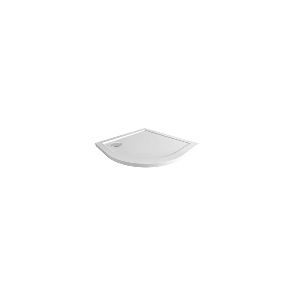 Čtvrtkruhová sprchová vanička, R550, SMC