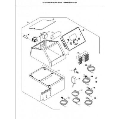 Blok konektorový ST 702 zPID   DAKON FB2 A , DOR N A