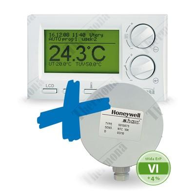 Ekvitermní set PT59 ( regulátor + čidlo venkovní teploty...
