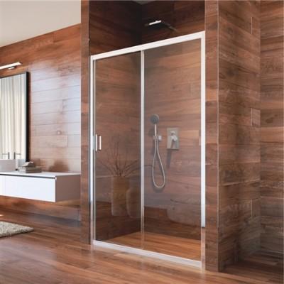 Sprchové dveře, LIMA, dvoudílné, zasunovací, 110 cm, sklo...
