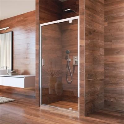 Lima sprchové dveře pivotové, 90x190 cm,  sklo Point 6 mm