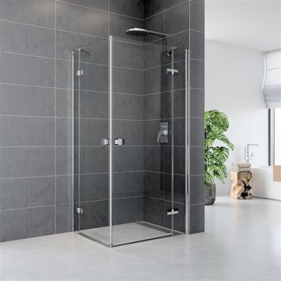 Sprchový kout, Fantasy, čtverec, 120x120 cm, chrom ALU,...