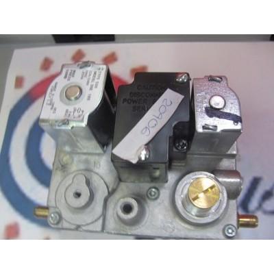 Plynový ventil - měření z boku