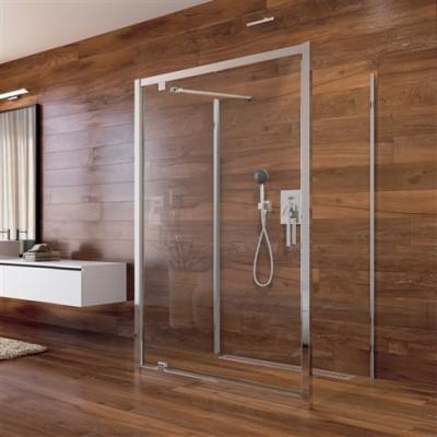 Sprchový kout Lima, obdél.,pivot. dveře, 2xboční stěna,...
