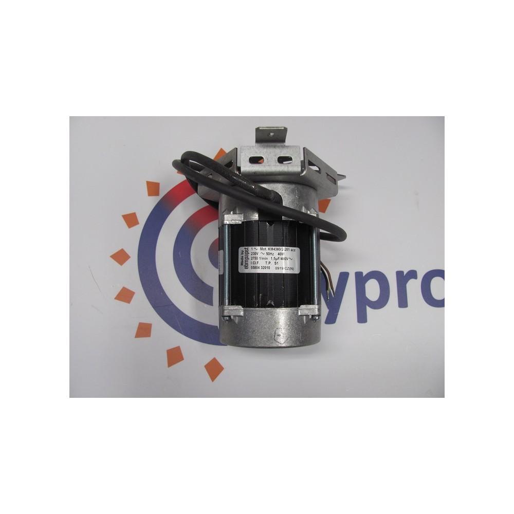 Motor ventilátoru DAKON KP Pyro, DAMAT , NP PYRO     KM4360/2 Ebm papst    BUDERUS