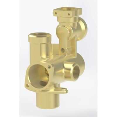 Hydroblok - část třícestného ventilu KDCN
