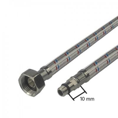 """Připojovací hadice 8x12, FxM10, 1/2""""xM10 kr., 50 cm,..."""