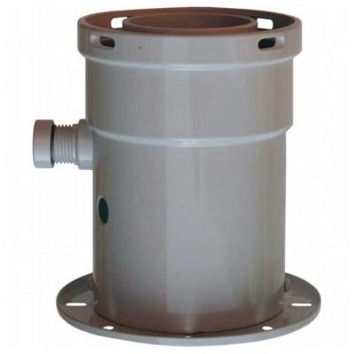 Příruba, měřící místa, odvod kondenzátu, průměr 60/100...