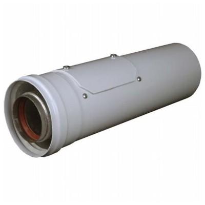 Vsuvka s kontrolním otvorem, l 330mm, průměr 60/100 mm,...