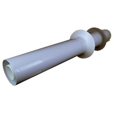 Trubka do zdi s koncovkou sání / výfuk, průměr 60/100 mm,...