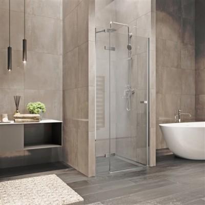 Sprchové dveře, Novea, 90x200 cm, chrom ALU, sklo Čiré,...
