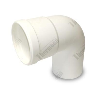 Koleno 90°, průměr 80 mm, kondenzační kotle
