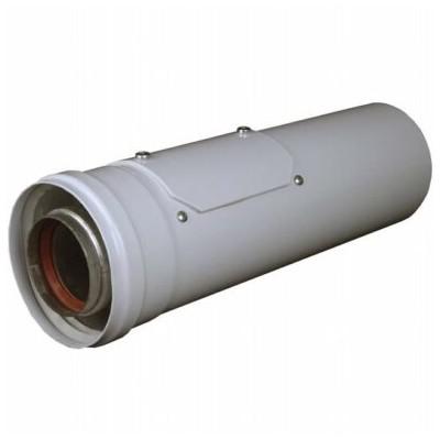 Vsuvka s kontrolním otvorem, l-340 mm, průměr 80/125 mm,...