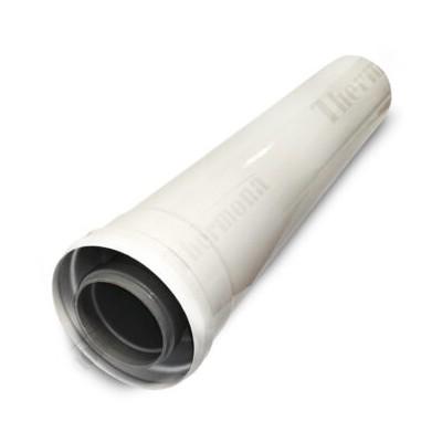Prodloužení 500 mm, průměr 60/100 mm, kondenzační kotle