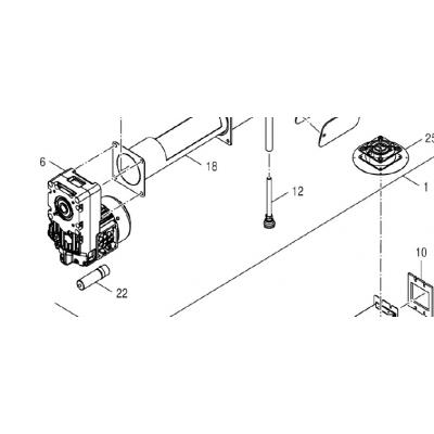 Motor podavače DAKON DOR 5N