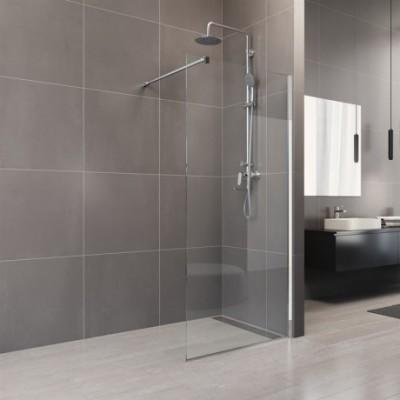 Sprchová stěna WALK IN, Novea, 110 x 200 cm, chrom ALU,...