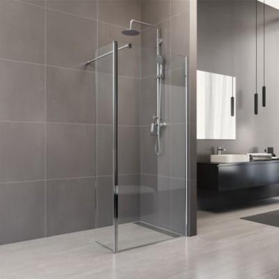 Sprchová stěna WALK IN, Novea, 35 x  200 cm, chrom ALU,...