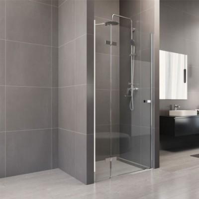 Sprchové dveře, Novea, 110x200 cm, chrom ALU, sklo Čiré,...