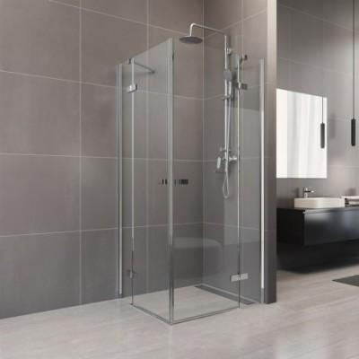 Sprchový kout, Novea, čtverec, 120x120 cm, chrom ALU,...