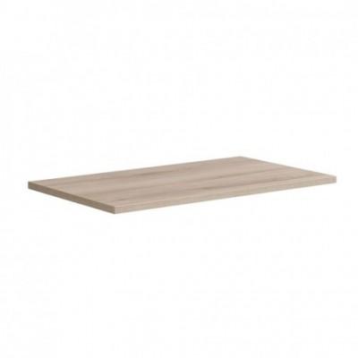 Aira desk, koupelnová deska na skříňku, dub, 610 mm