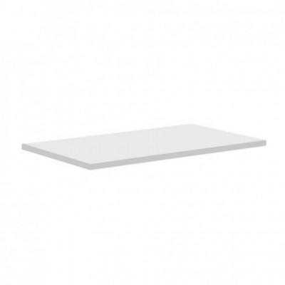 Aira desk, koupelnová deska na skříňku, bílá, 400 mm