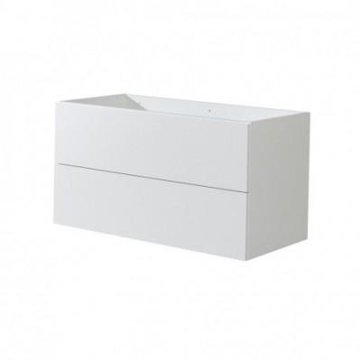 Aira desk koupelnová skříňka, bílá, 2 zásuvky,...