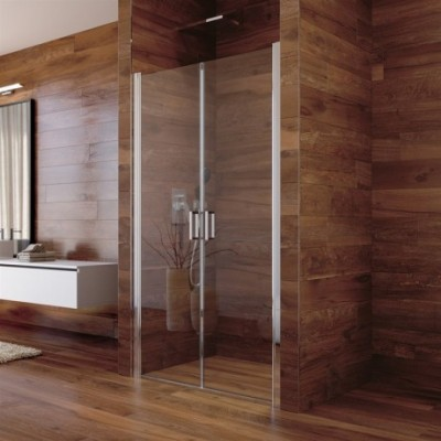 Sprchové dveře, Lima, dvoukřídlé, lítací, 77x190 cm,...