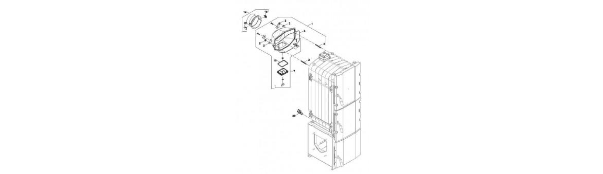 Sběrač spalin FB2 Automat