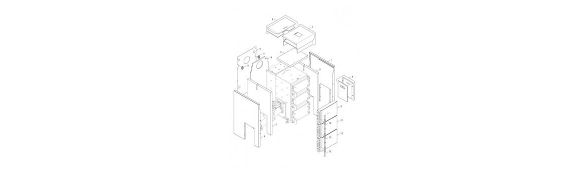 Opláštění a izolace DOR 5N Automat