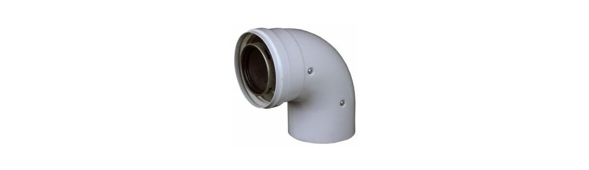 koaxiální 80/125 mm TURBO