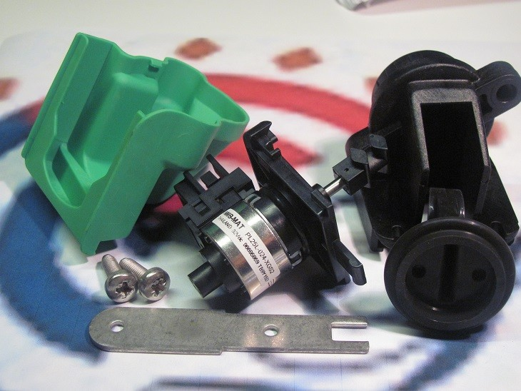 87161068450 Dakon Motor trojcestného ventilu DAKON KZ 24 C, JUNKERS CerapurSmart
