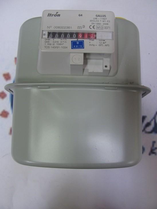 307650 Plynoměr BK G4 100