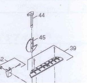 87399302550 Dakon Klíč odtahové klapky DOR 12-32