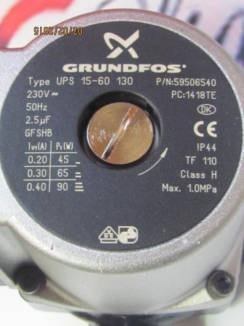 40013 Thermona Čerpadlo Grundfos UPS 15/60